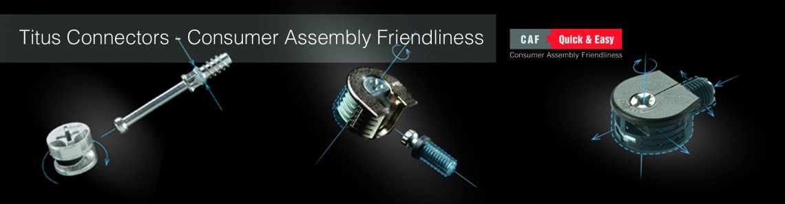 Titus Connectors   Consumer Assembly Friendliness