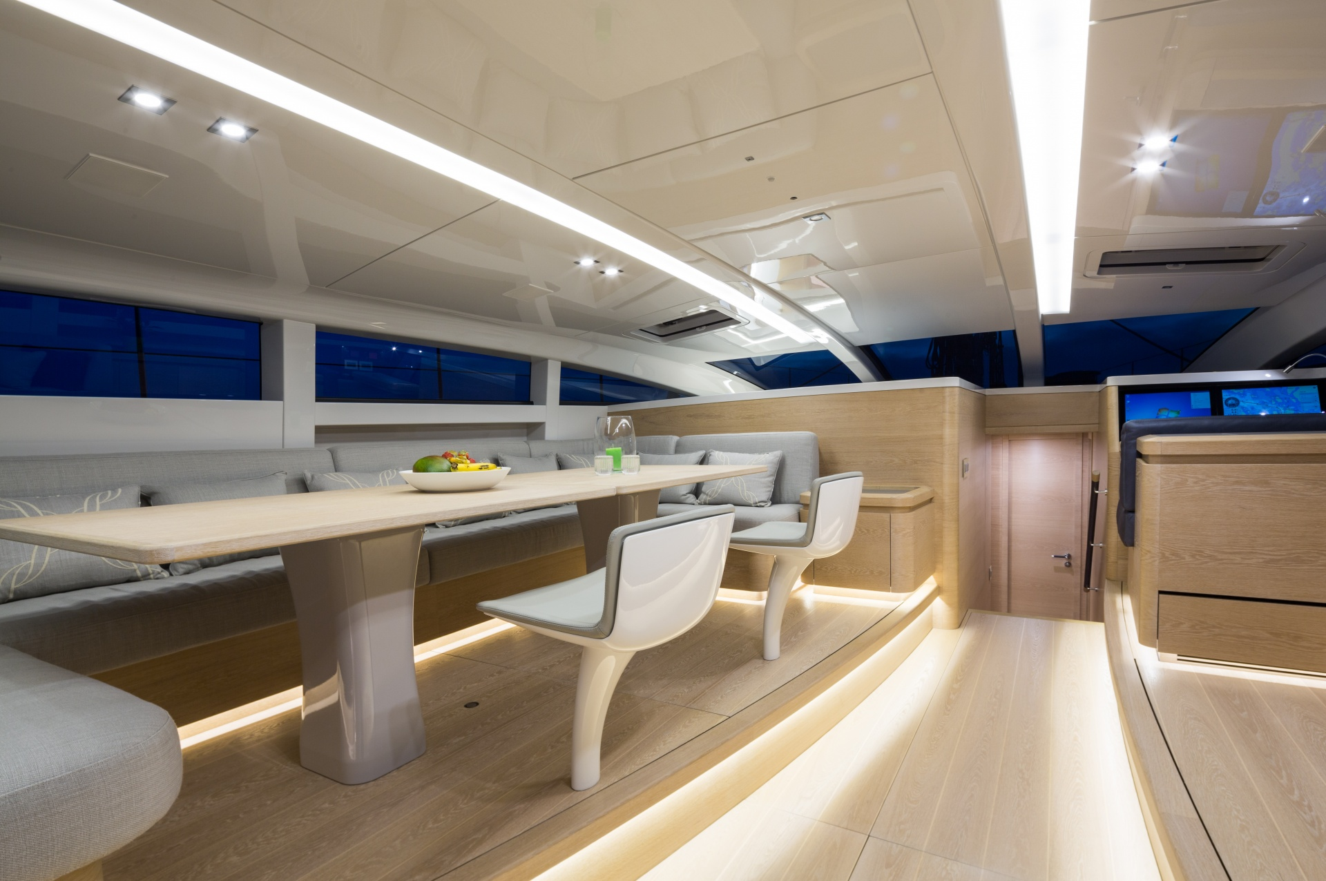 Fastmount in Baltic Yachts 108 WinWin