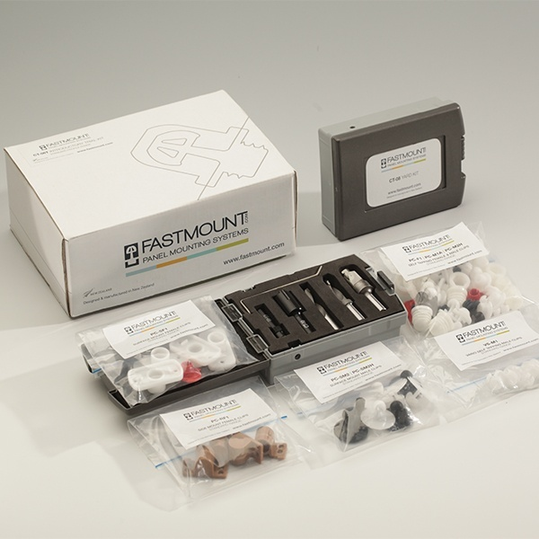 Fastmount CT-06T Standard Profile Range Trial Kit Complete with Tools