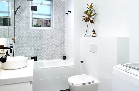 Renovation Education: Costs Per Item of a Small Bathroom Makeover